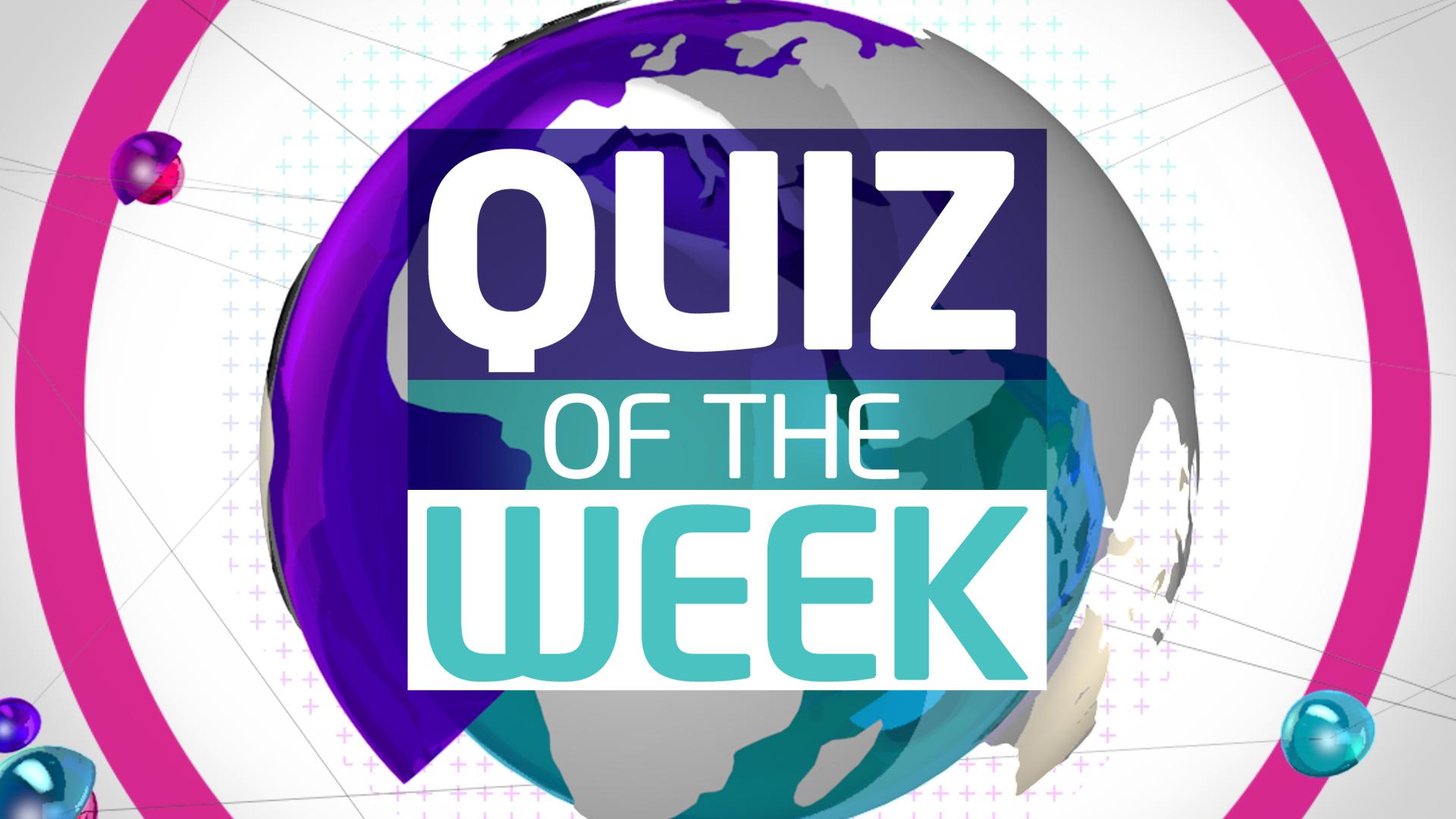 Quiz: This week in news