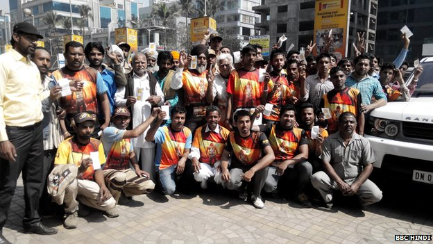 Les disciples de Guru Ram Rahim Gurmeet ont été enthousiasmés par le film