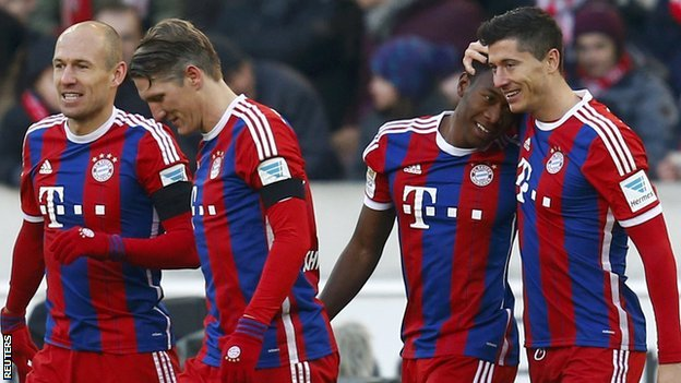 Liga Jerman  - Hasil Bayern Munich vs Hamburg SV, Pesta Gol Di Allianz Arena