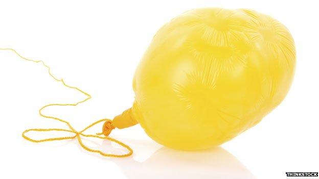 Balloon deflated