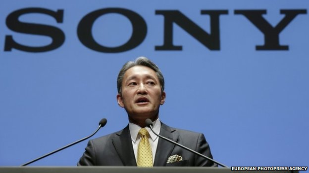 Kazuo Hirai, President and Chief Executive Officer of Sony