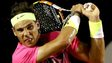Rafael Nadal in action at the Rio Open