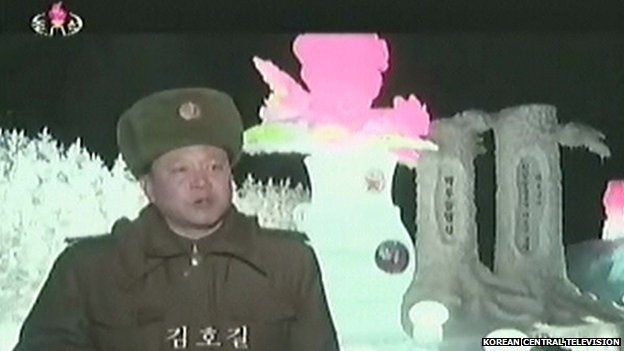A soldier describes the making of Kimjongilia and carved tree sculptures