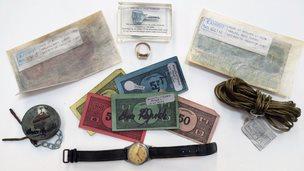 Gerat Train Robbery memorabilia
