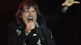 BBC News - Iron Maiden's Bruce Dickinson treated for cancer