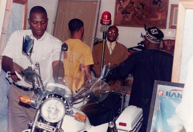 Innocent as a bike merchant