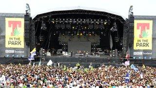 BBC - Newsbeat - T in the Park line up revealed on Radio 1 - Kasabian headline