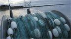 Fishing net on boat