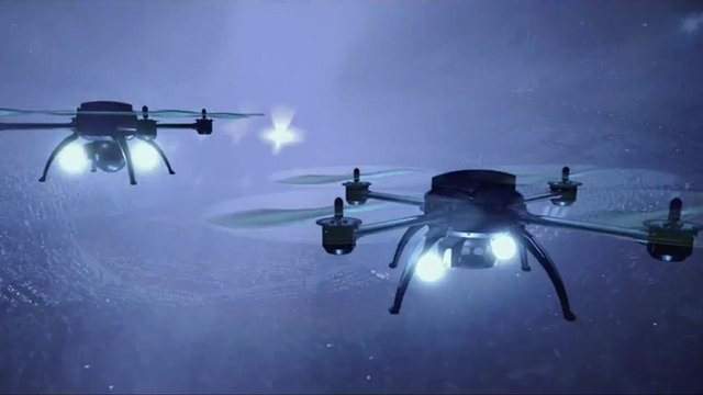 81125134 drone circus1024 - Tech review: A look back at the week's headlines