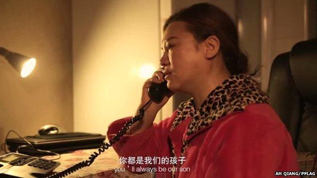 Coming Home telephone scene