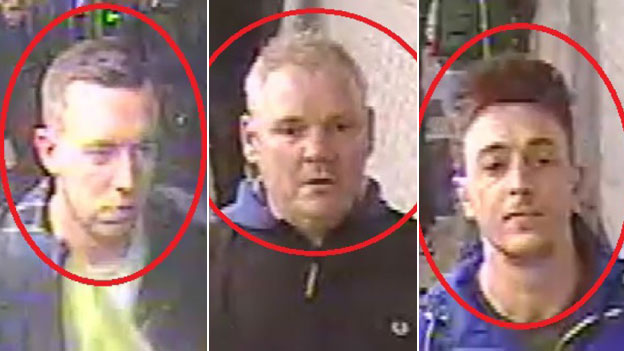 Chelsea fans sought by police
