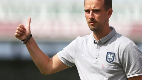 England Women head coach Mark Sampson