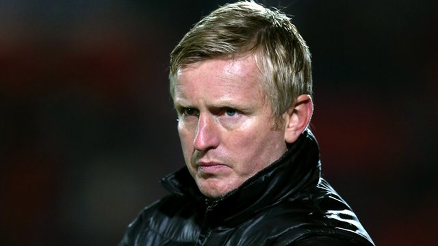 Terry Skiverton BBC Sport Terry Skiverton Yeovil acting manager on