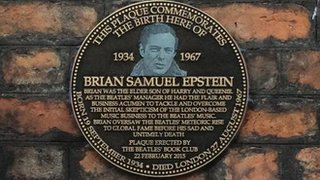 BBC News - Plaque for Beatles manager Brian Epstein unveiled in Liverpool