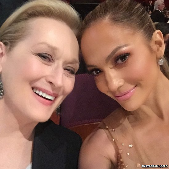 Meryl Streep and Jennifer Lopez