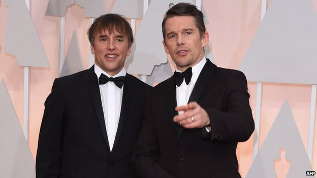 Richard Linklater and Ethan Hawke