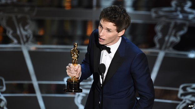 The Theory of Everything - Best Lead Actor Award Won by Eddie Redmayne