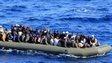 Migrant boat near Lampedusa, March 2014