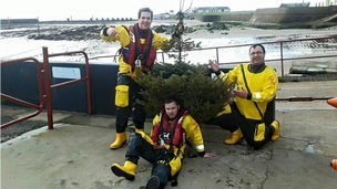 Lifeboat crew tree