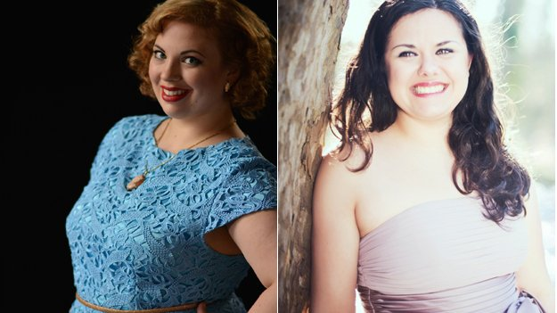 "Canadian soprano Aviva Fortunata, 27, and France""s Anaïs Constans, 26, also a soprano"