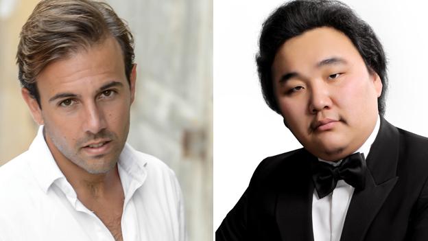 Maltese tenor Nico Darmanin and Mongolian baritone Amartuvshin Enkhbat