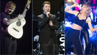 BBC News - Stars descend on London for Brit Awards
