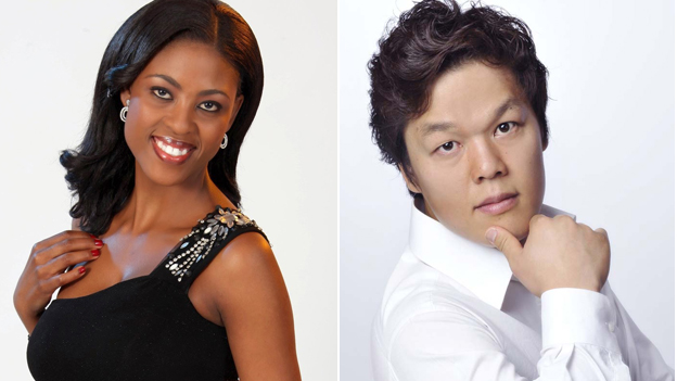 Kelebogile Besong from South Africa is a 28-year-old soprano. Insu Hwang, a bass baritone