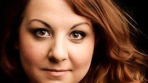 Swansea soprano Céline Forrest