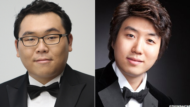 Jaeyoon Jung, 31, and bass Jongmin Park , 28