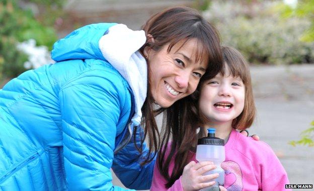 Gabi with Lisa