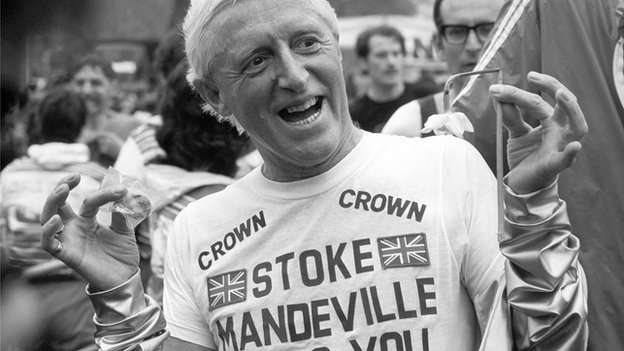 Jimmy Savile raised funds for Stoke Mandeville hospital