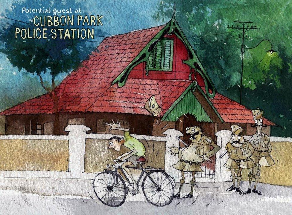 Cubbon Park Police Station
