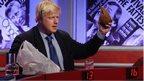 Boris Johnson on Have I Got News For You