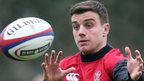 England rugby star George Ford