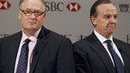 HSBC Group Chairman Douglas Flint and Group Chief Executive Stuart Gulliver