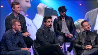 BBC News - The Backstreet Boys on fame, friendships and families