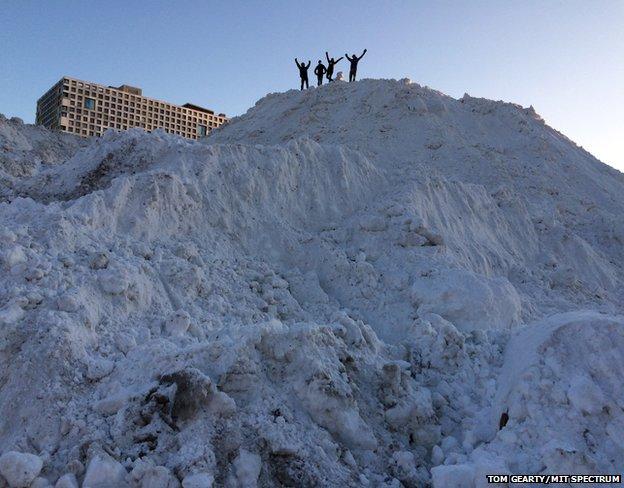 Snow mountain at MIT