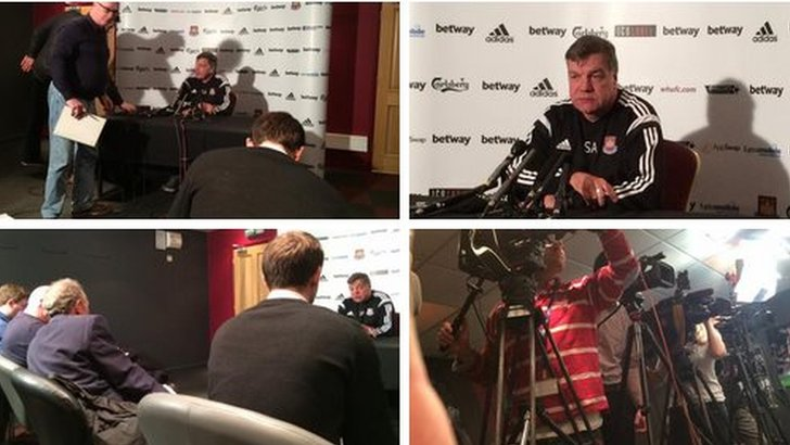 Montage from press conference