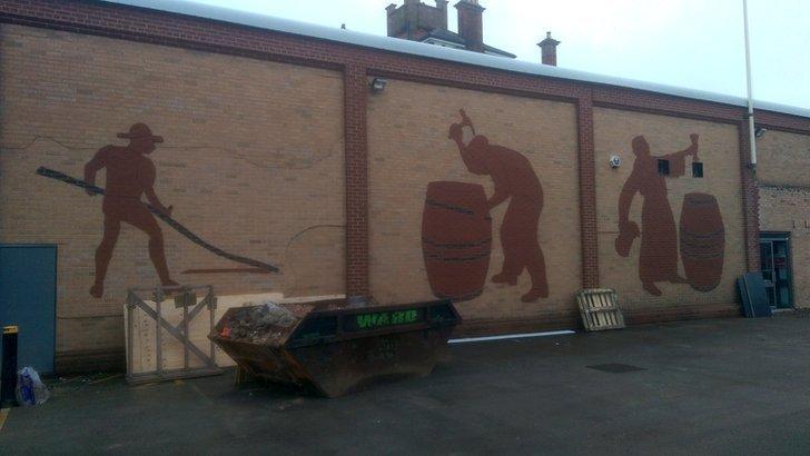 Burton mural