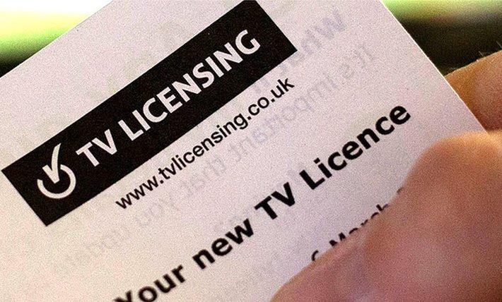 TV licence letter