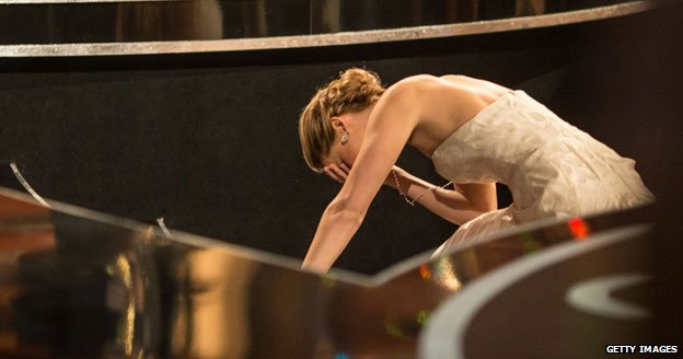 Jennifer Lawrence, Oscars, 2013