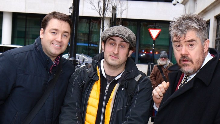 Jason Manford, Ross Noble and Phil Jupitus