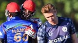 Scotland's Richie Berrington looks on as Afghanistan celebrate