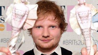 BBC - Newsbeat - Ed Sheeran: Just me and Sam winning isn't enough