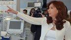 Cristina Fernandez, 15 Feb 15