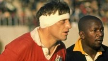 Willie John McBride in action during the Lions tour of South Africa in 1974