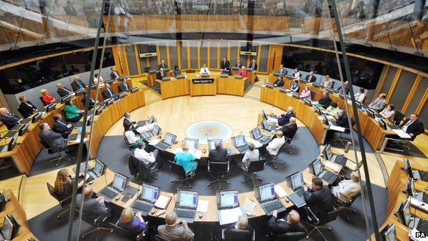 Chamber of the National Assembly of Wales