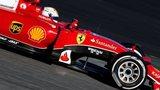 Sebastian Vettel's Ferrari