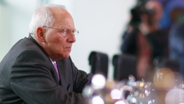 German Finance Minister Schaeuble