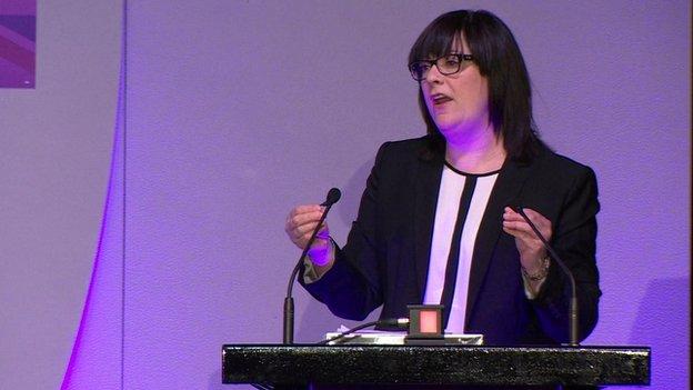 Louise Bours, UKIP's health spokeswoman
